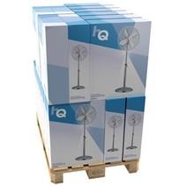 Staande Ventilator 40 cm 45 W Chrome Zilver