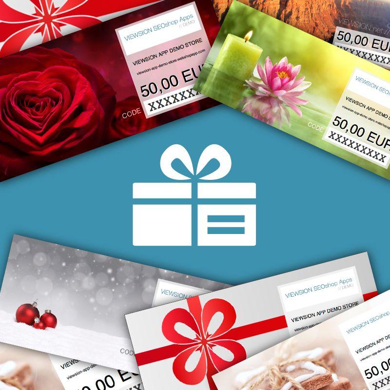 vOucher Gift Card DEMO
