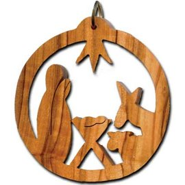 Desert Rose Ornament - holy family