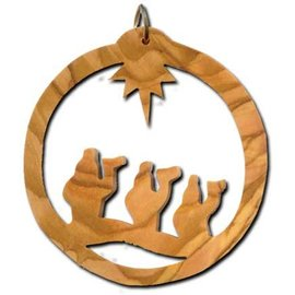 Desert Rose Ornament three wise men