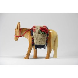 Desert Rose Donkey with saddle