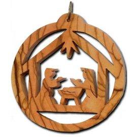 Desert Rose Ornament - holy family