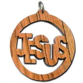 Desert Rose Ornament - Jesus