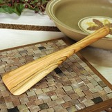 Desert Rose Olive wood spatula small