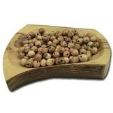 Desert Rose Olive wood beads round, diameter 15mm