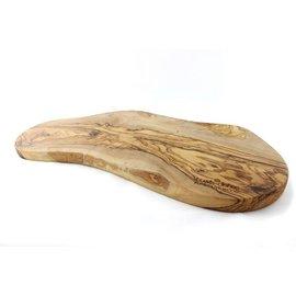 Pure olivewood Tapasplank 50-55 cm