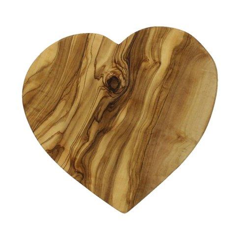 Arte Legno Appetizer board in the shape of a heart, 21cm