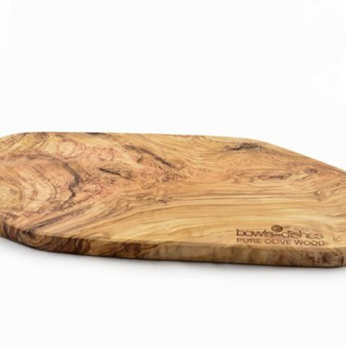 Pure olivewood Houten tapasplank extra breed, olijfhout