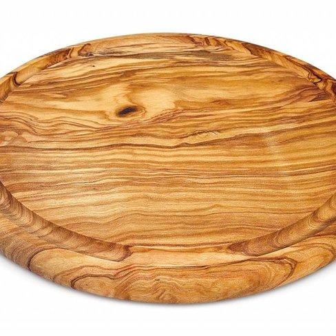 Arte Legno Tapas board round, 30 centimeter diameter