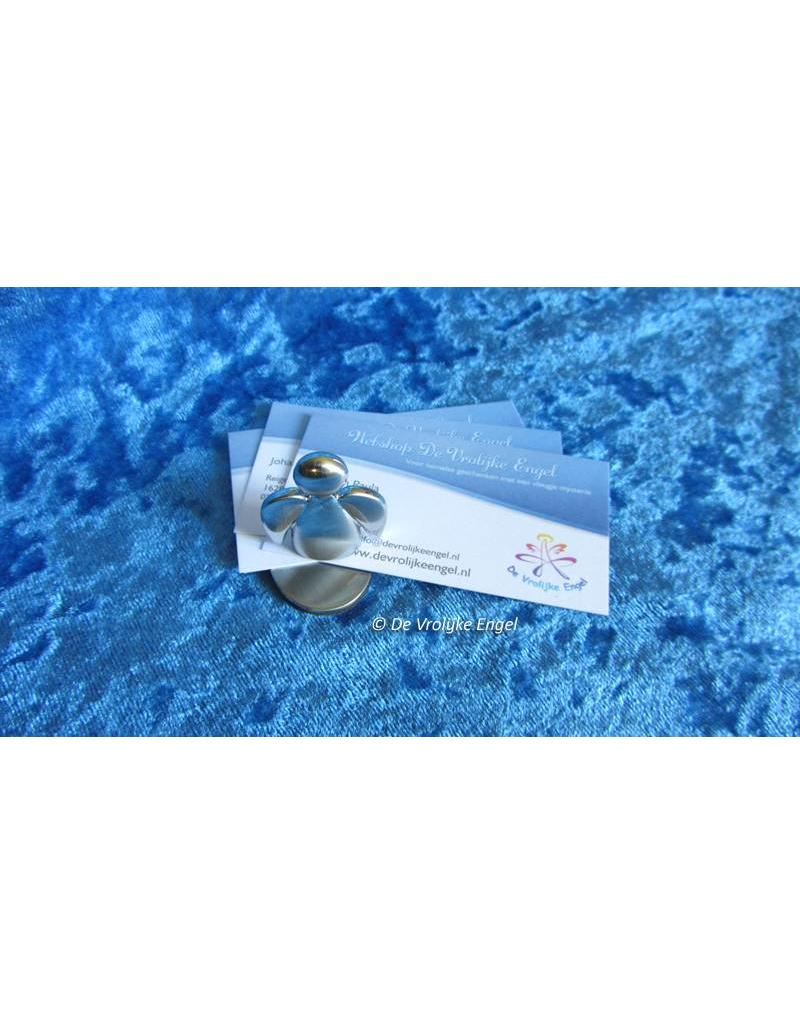 Beschermengel magneet van RVS