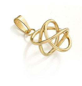 Gouden Akaija (14 kt) hanger
