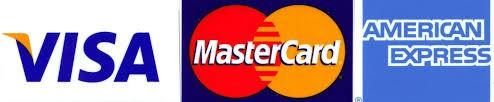 Betaling met creditcard mogelijk.