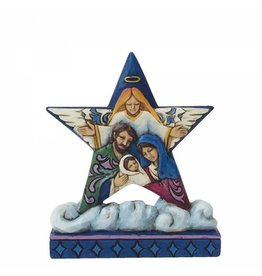 Jim Shore (Heartwood Creek) Jim Shore Holy Family Mini Star