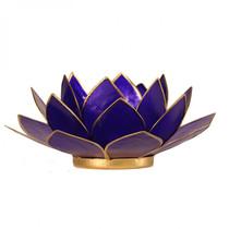 Lotus kaarshouder - indigo