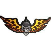 German Skull Side wings