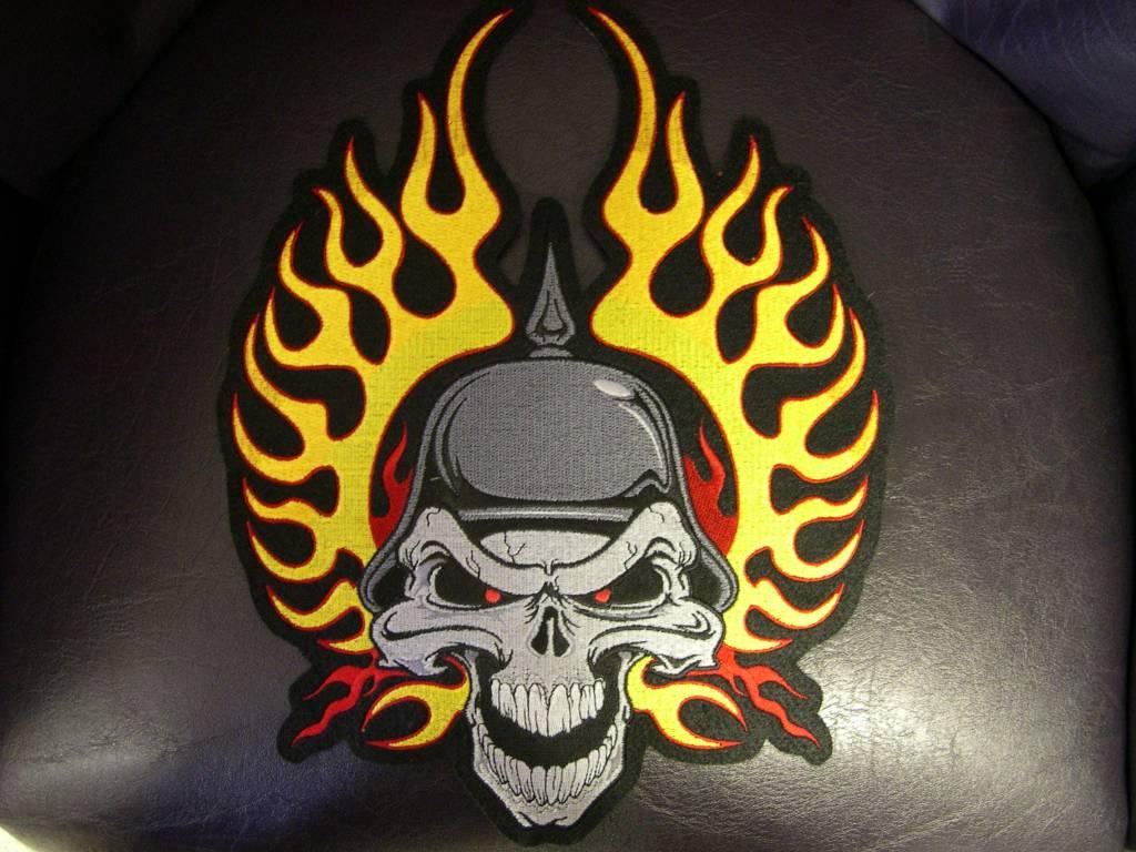 german skull wings high color nr 145 e