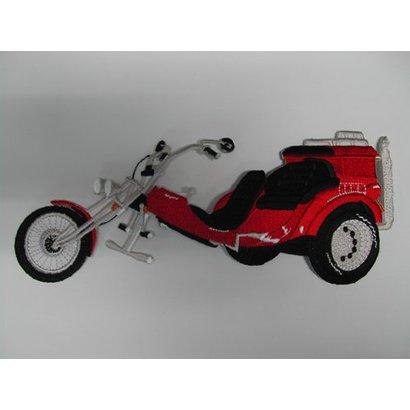 Trike red medium nr. 65 E