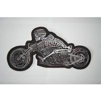 German skull motorcycle