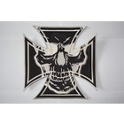 Maltezer cross black with skull