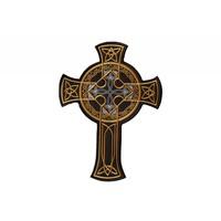 Keltisch Cross Gold