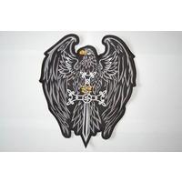 Eagle and Sword black