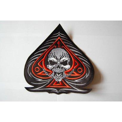 Spade and Skull orange 209 R