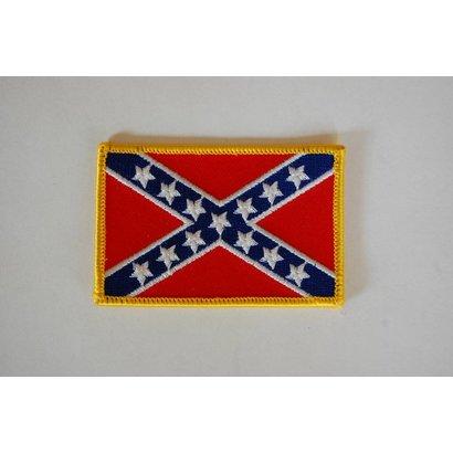 rebel flag patch badgeboy