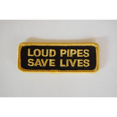 Loud Pipes Save Lives Gold 380 E