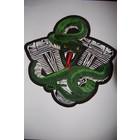 Snake on Engine Green