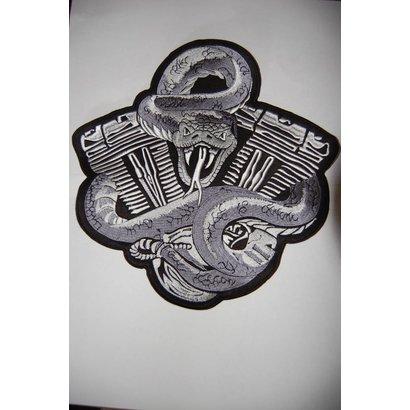 Snake on Engine Black 272 R