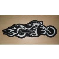 Bike in Flames Black