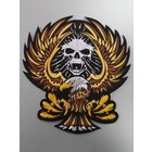 Eagle with Skull Gold 118 R