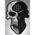 Skull with Maltezer cross 655 R
