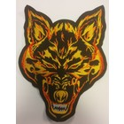 Wolf in flames color 637 R