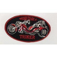 Triker Patch red small