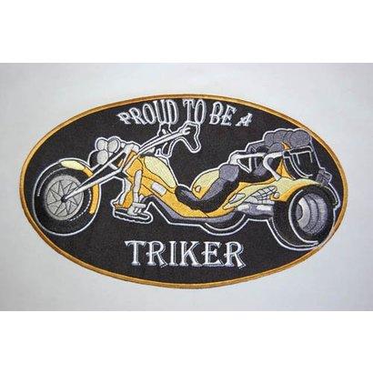 Trike patch yellow small 426 E