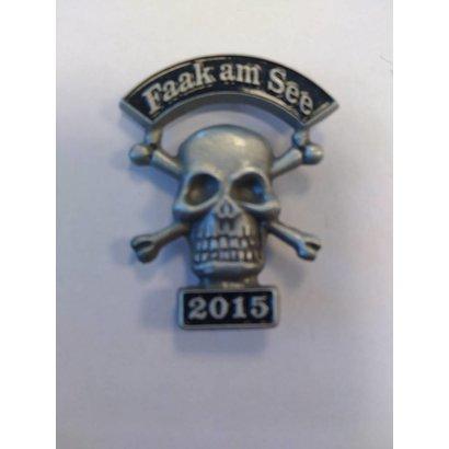 Faak Skull 2015 Pin
