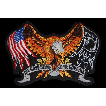 POW MIA USA Eagle