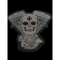 Skull and Engine light grey 473 E