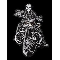 The Biker patch Black