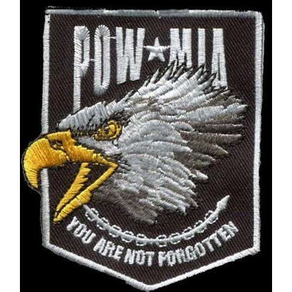 Pow Mia Eagle patch