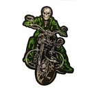 The Biker patch Green