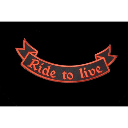 Ride to Live orange