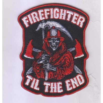 Firefighter til the end