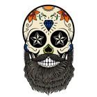 Sugar skull beard