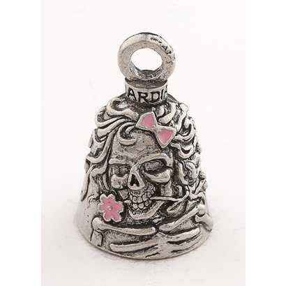 Lady skull pink Guardian bell