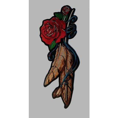 Lady feather rose medium