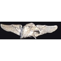 Eagle Head winged pin