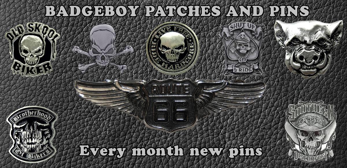 Badgeboy pins