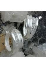 Gallay Creole, 5x Zirkonia 925 Silber